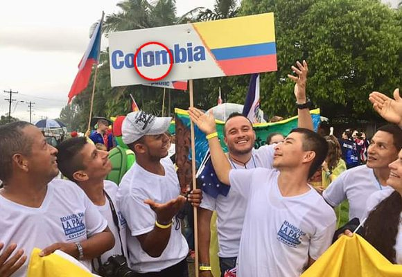 """It's Colombia, not Columbia"": exguerrilleros corrigen a Federación Internacional de Rafting"