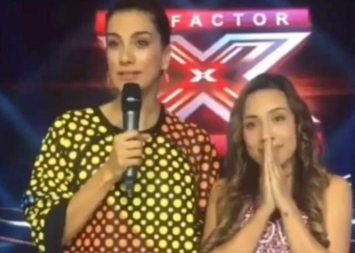El día que el Factor X le dijo 'NO' a Luisa Fernanda W