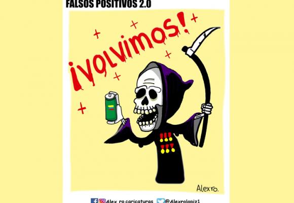 Caricatura: Falsos positivos 2.0.