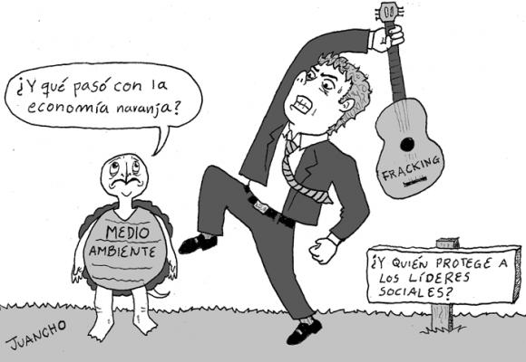 Caricatura: Si este es el gobierno que tenemos, ¿qué será de nosotros?