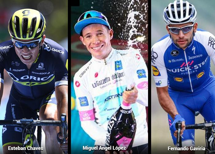 No está Egan, pero siete jóvenes colombianos se pelean el Giro de Italia