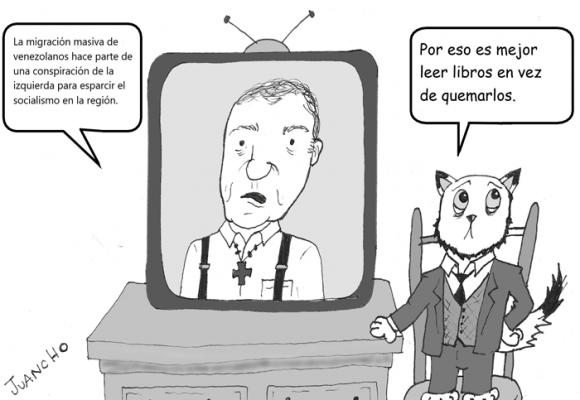 Caricatura: Los disparates de Ordóñez