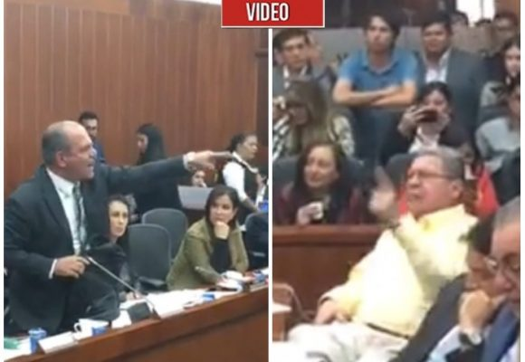 VIDEO: Una nueva grosería del senador Mejía del CD