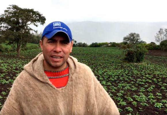 Cambió a la ciudad por irse a cultivar papas en Boyacá