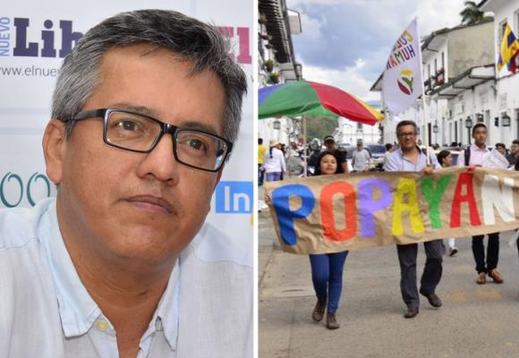 Jorge Bastidas, el precandidato por firmas a la alcaldía de Popayán por la Colombia Humana