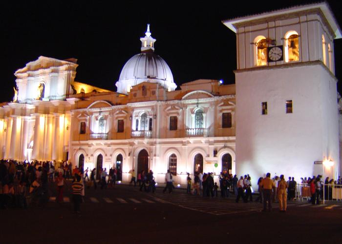 La oscura noche de Popayán y el Cauca