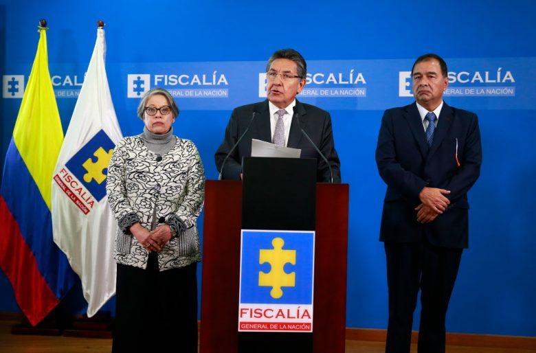 La renuncia en vivo y en directo del fiscal Néstor Humberto Martínez