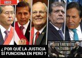 Cinco presidentes de Perú han terminado condenados o enredados por corrupción