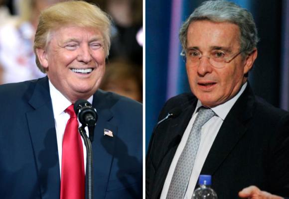 Las campañas de Trump y Uribe para reelegirse