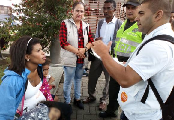 En Pereira también se siente el drama de la migración venezolana