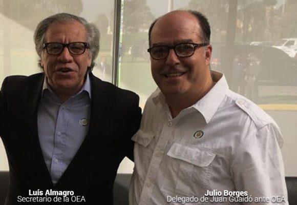 Golpe de mesa por presencia de enviados por Guaidó en la OEA