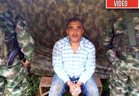 """""""Mi amor, fui detenido por la columna Jaime Martinez de las Farc"""""""