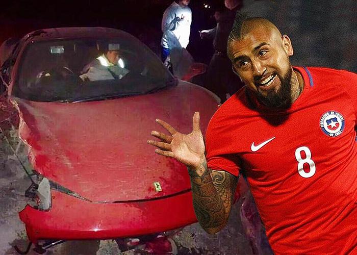 Ferraris chocados y fiestas interminables: los desafueros de Arturo Vidal