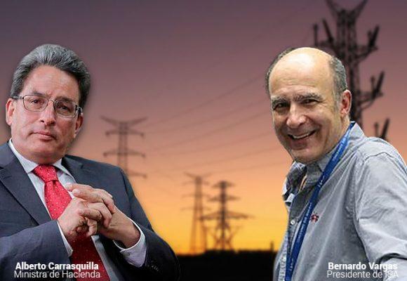 Presión de Carrasquilla y el gobierno para vender ISA