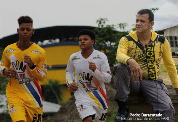 Goles y balones, la propuesta del excomandante Pedro Baracutado en el Chocó