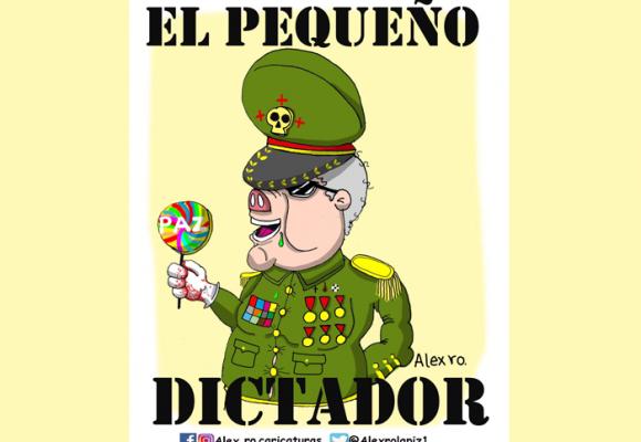Caricatura: Duque, el pequeño dictador