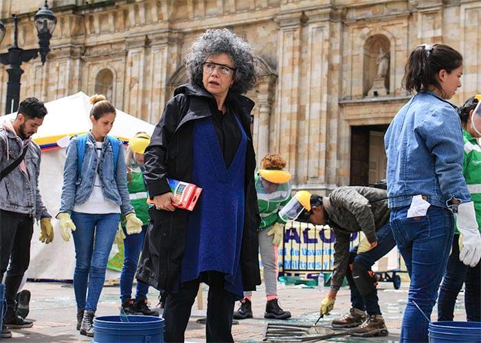 Doris Salcedo nos quedó mal a todos