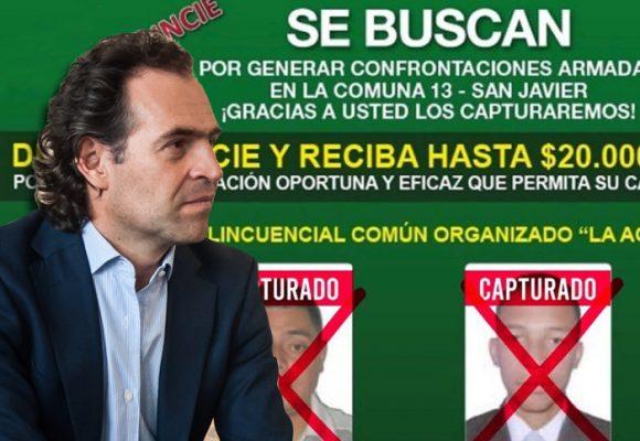 """A """"Mármol"""", """"Machete"""", """"Camarada"""" y otros 136 capos se les acabó la fiesta en Medellín"""