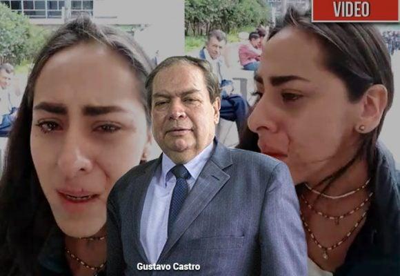 [VIDEO] La golpiza que le dio el director de la Revista Congreso a una de sus periodistas