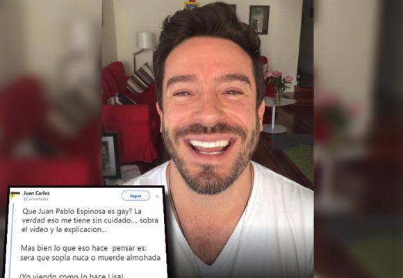 """""""¿Será sopla nuca o muerde almohadas?"""": Las burlas a Juan Pablo Espinosa en twitter"""