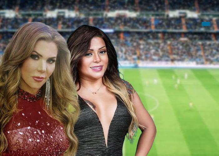 Marbelle y Lady Noriega: las mujeres de futbolistas más famosas de Colombia