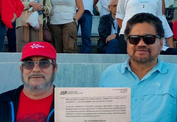 El mensaje de Timochenko que enredó a Iván Márquez en la JEP