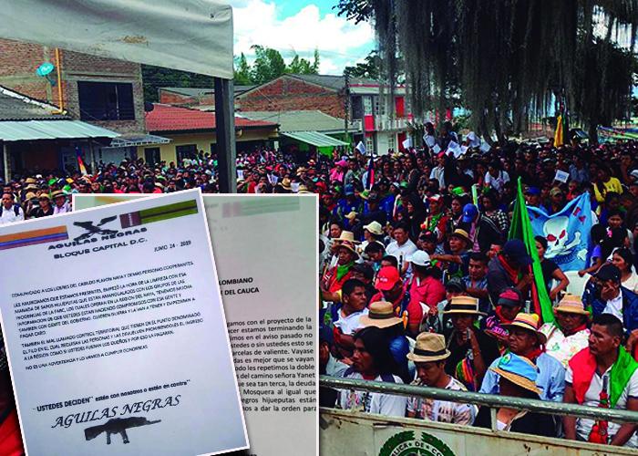 SOS en el norte del Cauca por lluvia de panfletos amenazantes