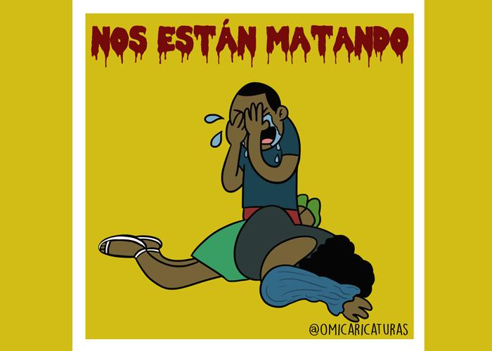 Caricatura: ¡Continúa la masacre!