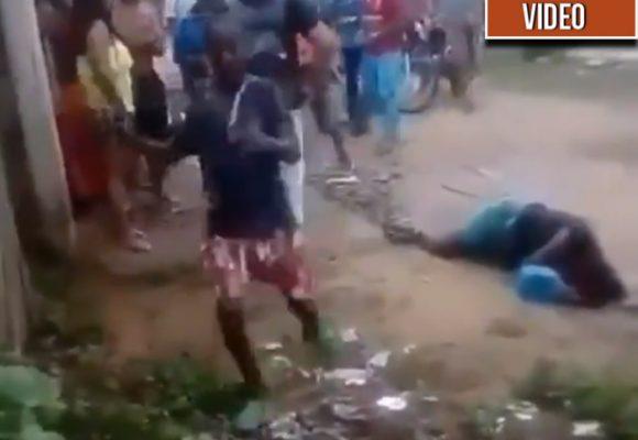 El desgarrador video de un niño llorando a su madre, una líder social asesinada