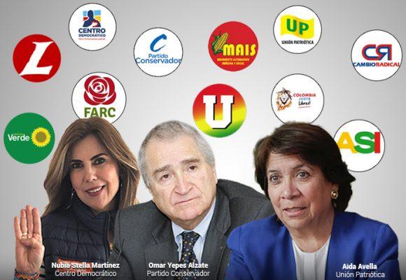 Los mandamases de los partidos que escogerán los candidatos de octubre