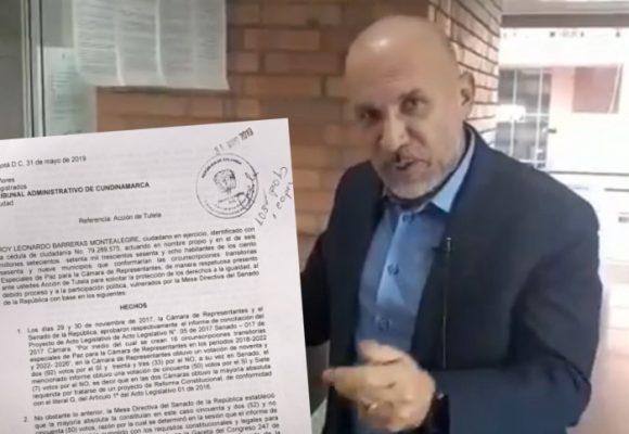 La movida de Roy Barreras para revivir las curules de las víctimas