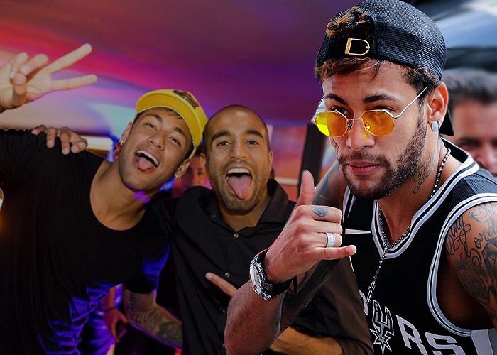 La vida loca que está destruyendo a Neymar