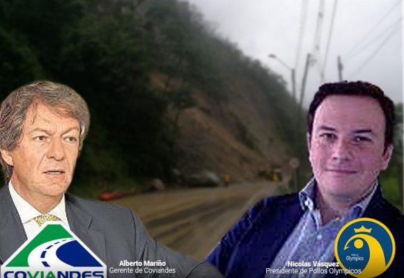 Pollo Olympico y Coviandes, ¿cuál de los dos es responsable de los derrumbes en la Vía al Llano?
