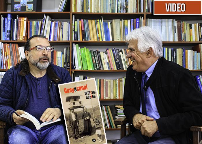 William Ospina revela las claves de su última novela: Guayacanal