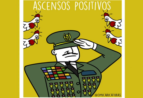 Caricatura: Ascensos positivos