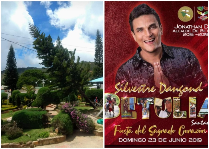 En Santander habrían talado árboles por concierto de Silvestre Dangond