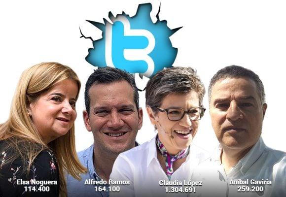 Los candidatos a alcaldías y gobernaciones se miden el aceite en Twitter