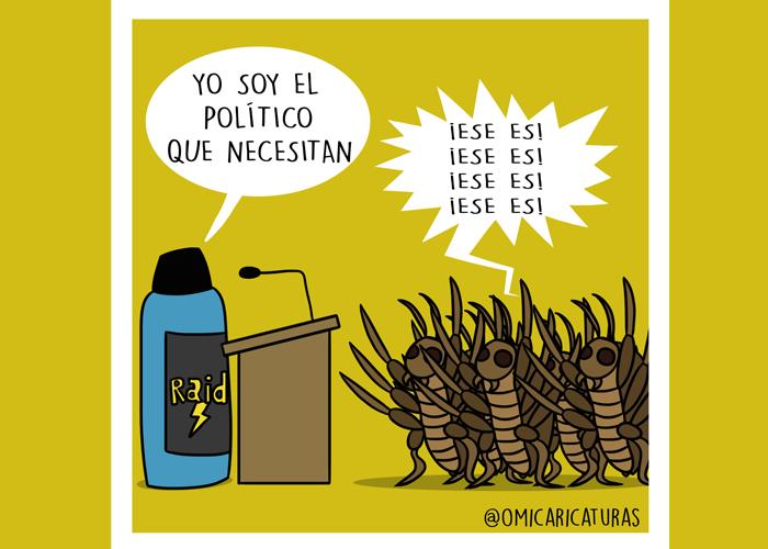 Caricatura: ¡No paramos de elegir el veneno!