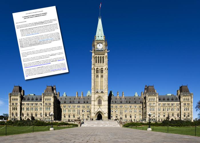 ¡Nos están asesinando!: la carta de líderes colombianos al Parlamento de Canadá