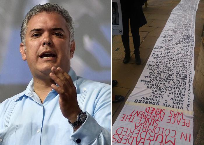 Colombia y su interminable lista de líderes asesinados