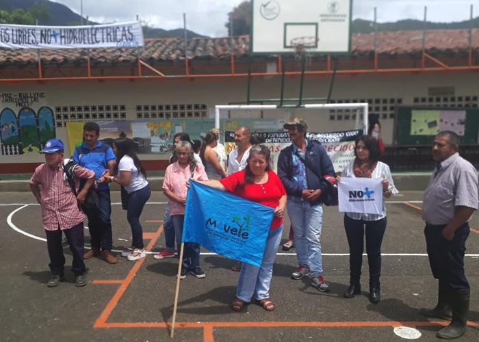 Comunidad de Cocorná se opone a la quinta microcentral que se quiere construir en la zona