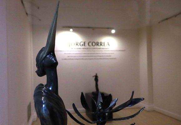 Esculturas en bronce de Jorge Correa