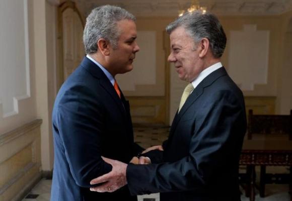 Un año con Duque, un siglo sin Juan Manuel Santos
