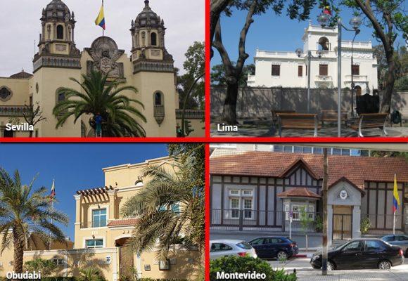 Impactantes sedes diplomáticas colombianas en el mundo que se han sabido conservar