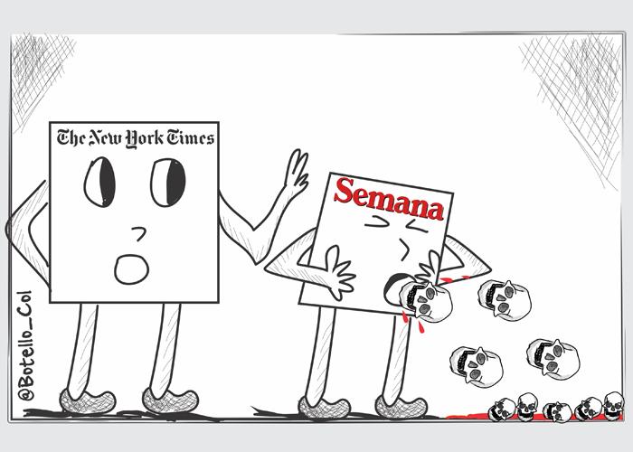 Caricatura: ¡Escúpalo!