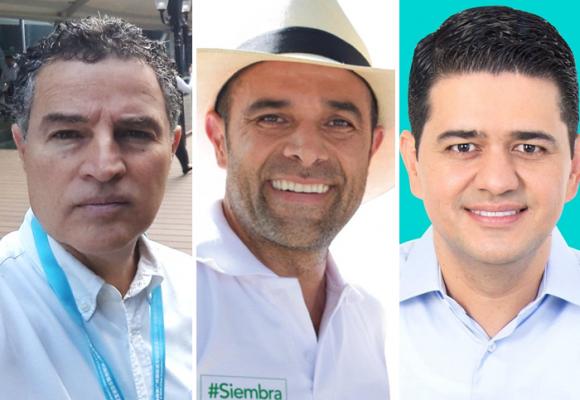 Gaviria, Guerra y Correa marcan el inicio de la carrera por la gobernación de Antioquia
