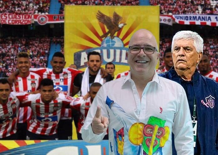 El Junior tendrá monumento en Barranquilla por su hazaña de lograr el bicampeonato del fútbol colombiano