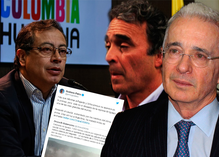 La pulla de Petro a Uribe y Fajardo que terminó siendo mentira