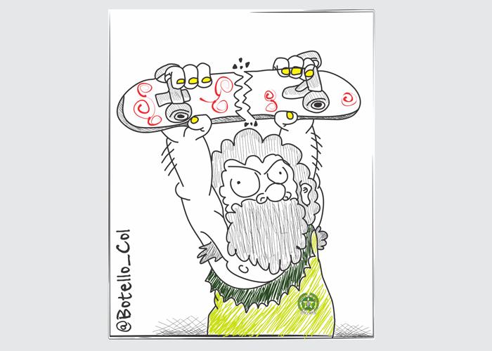 Caricatura: ¿Policías o salvajes?