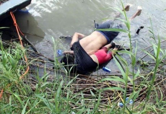 La desgarradora historia detrás de la foto del papá y la hija ahogados